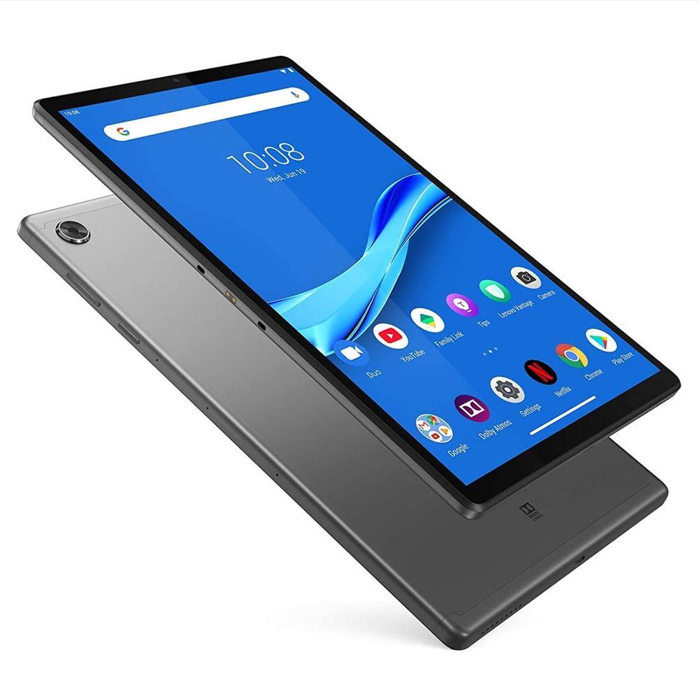 Оригинальный телефон Lenovo Tab M10 плюс TB-X606F 10,3 дюймов 4 Гб оперативной памяти, 64 Гб встроенной памяти, Android 9 Pie MediaTek P22T восьмиядерных процессор пл...