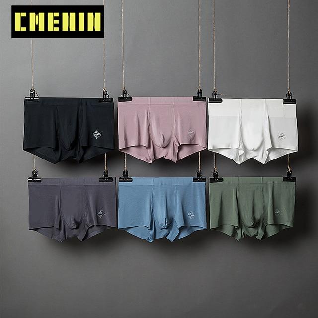6pcs/lot Men Boxer Underwear Modal Breathable Soft Man Boxers Underpants Mens Clothing Boxershort Ropa Interior Homme AD308