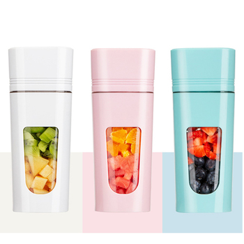 Small Appliances New Juicer Household Portable Multi-Function Charging Juice Cup Mini Juice Machine jiqi household mini electric portable juicer glass juice cup 222w big power pink blue green