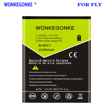 WONKEGONKE 2100mah BL8017 Battery for FLY High Quality Batteries battery image
