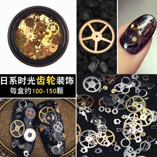 120 قطعة Cogs Steampunk مختلطة والعتاد ساعة حلية UV إطار مجوهرات من مادة الراتنج الحشوات لتقوم بها بنفسك