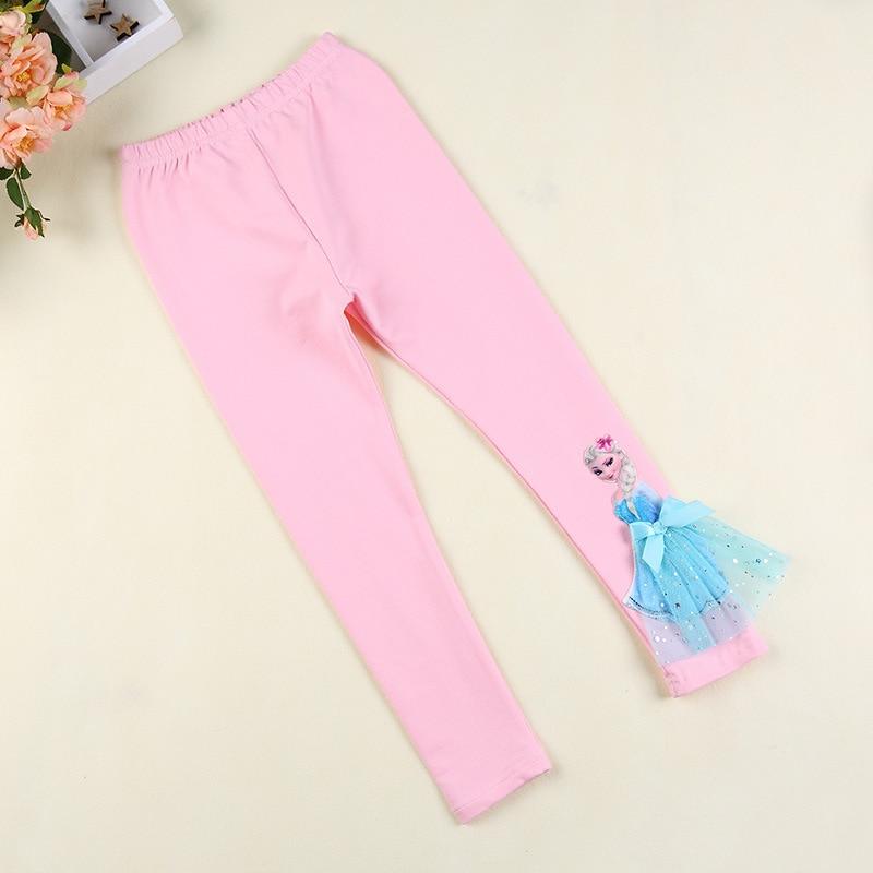 5 Year, Pink Disney Frozen 5-8 Years Pink /& Blue Year Trousers Pants Kids Leggings