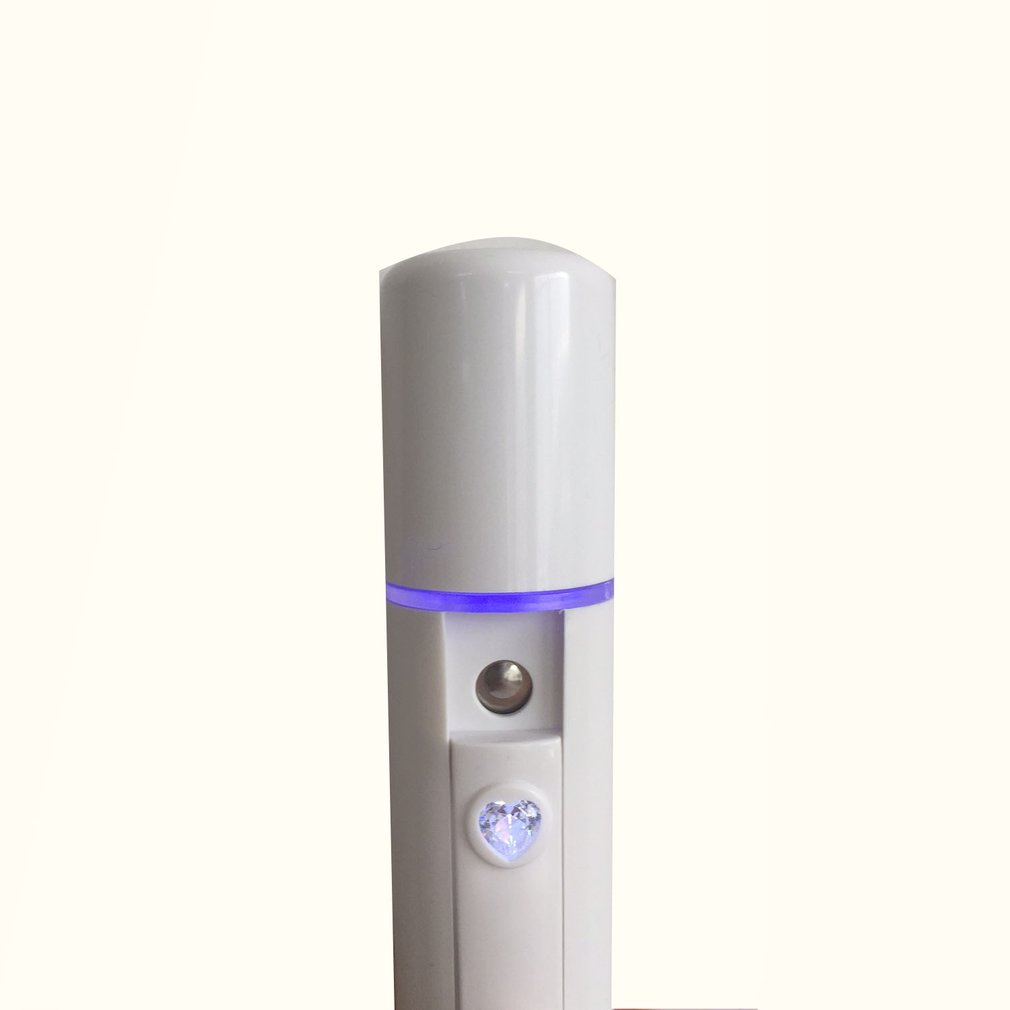Nano spray water replenishing apparatus facial humidifier beauty instrument charging in Face Skin Care Tools from Beauty Health
