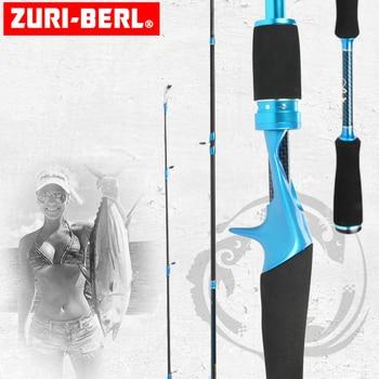 zuri-berl M/MH lure Carp fishing rod surfcasting rod baitcasting rods carbon fishing rod casting with 2.1m for Bass Pike Fishing