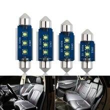 Festoon c5w светодиодный светильник canbus для салона автомобиля