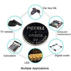 Image 4 - PKCELL 5Pcs/1Cards CR2032 5004LC 220mAh+5Pcs/1Cards CR2025 5003LC 150mAh+5Pcs/1cards CR2016 5000LC 75mAh 3V Lithium Button Cell