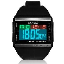Electronic New Sport Watch Men Digital Waterproof W