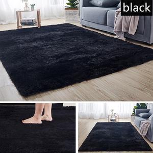 Carpet-Tie Floor-Mats Bedroom Living-Room Anti-Slip Plush Water-Absorption for Rugs Dyeing
