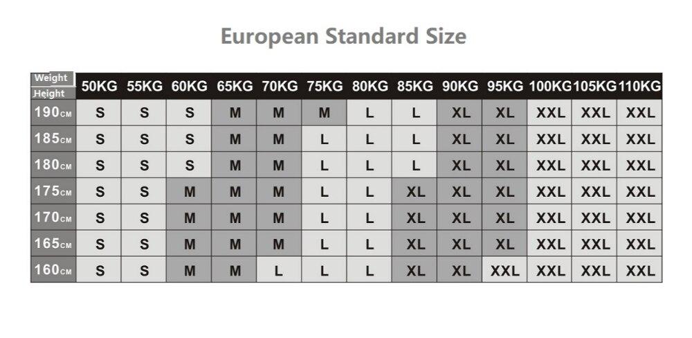170 cm 60 kg mann