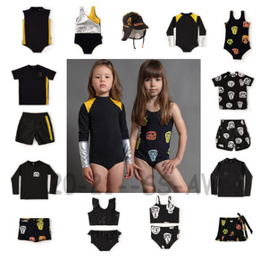 2020 SS Swimming Wear For Boys And Girls Baby Fashion Beach Swimsuits And Surf Swim Shorts New Summer Hawaii Clothing Sets 1-11Y(China)