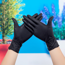 Disposable latex gloves Ding Qing rubber waterproof surgery food protection food protective adhesive skin thickened plastic