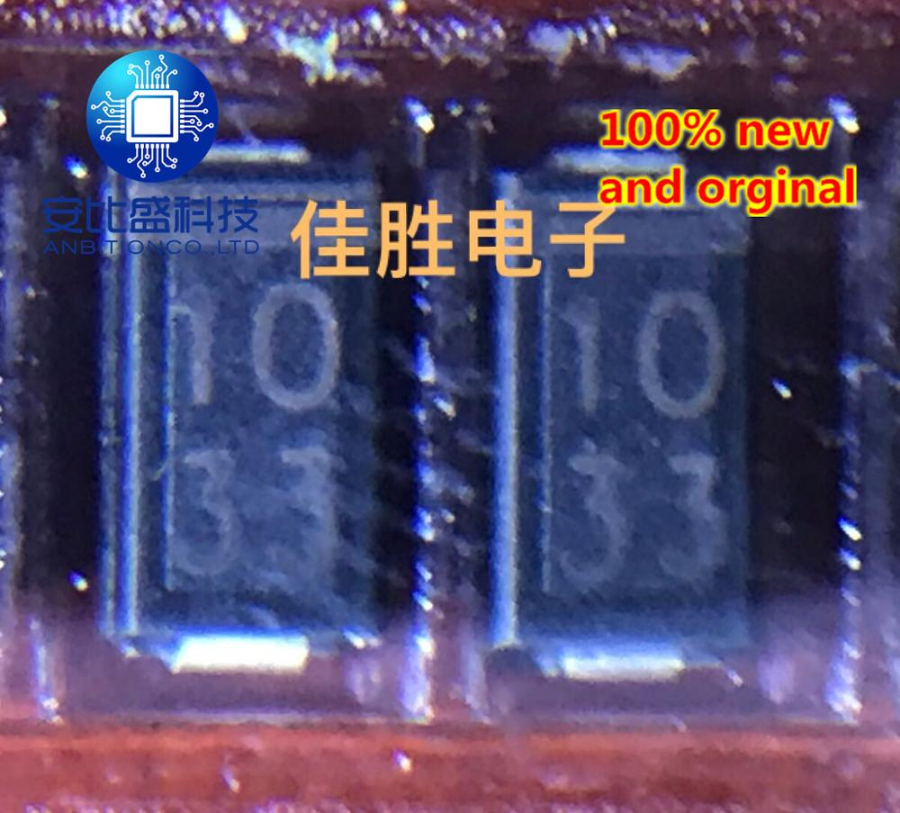 25pcs 100% New And Orginal SZ1033 33V Protection Diode DO214AC Silk Screen 1033 In Stock