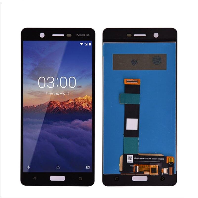 Для Nokia 5 N5 ЖК дисплей с сенсорным экраном дигитайзер Сенсорная панель в сборе запасные части для Nokia 5 ЖК экран pannel Экраны для мобильных телефонов      АлиЭкспресс