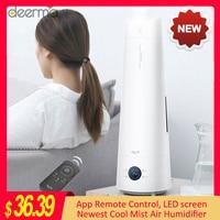 2020 Deerma LD220 4L humidificador de aire inteligente pantalla táctil de pie fresco niebla aceite esencial de aromaterapia humidificador de Control remoto Humidificadores     -