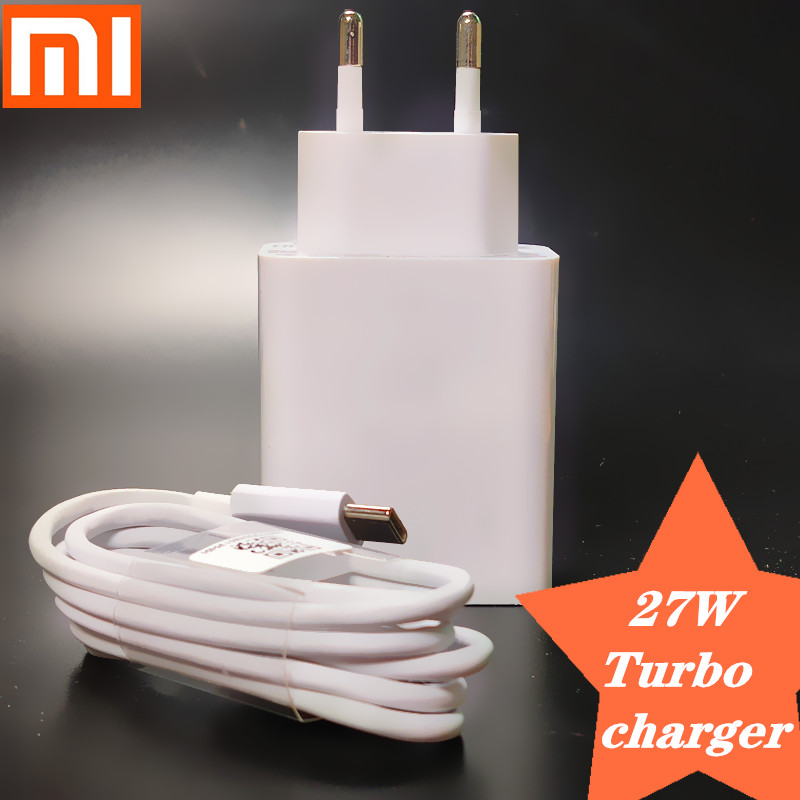 Original <font><b>27W</b></font> Xiaomi Fast <font><b>Charger</b></font> QC 4.0 Turbo Charge quick power adapter USB For <font><b>mi</b></font> 9 SE 9T MIX MAX 3 K20 pro Redmi note 7 pro image