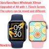 Original X8 Max Wholesale Smart Watch X8max SmartWatch 1.75inch Dialing Bluetooth Music Sports Sleep Monitoring Heart-rate