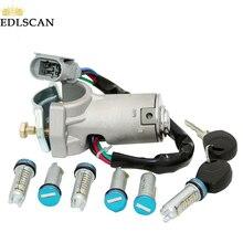 EDLSCAN переключатель зажигания баррель замок для ежедневного 2000-2006 переключатель зажигания 2991727 2992551