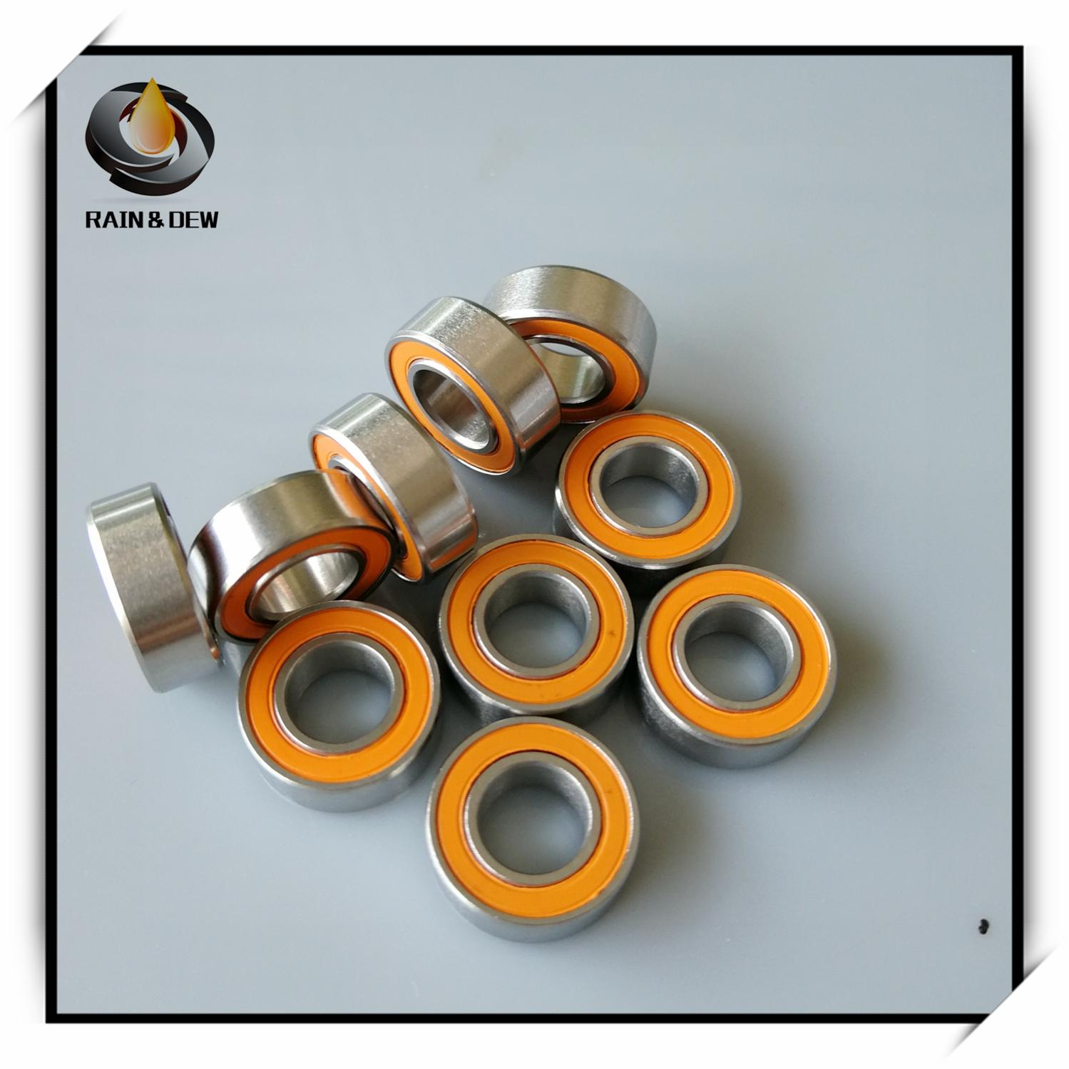 1Pcs  S687 2RS CB ABEC7 7x14x5 Mm Stainless Steel Hybrid Ceramic Ball Bearing S687-2RS S687 2RS