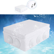 Waterproof and Dustproof Connection Box Indoor and Outdoor ABS Plastic DIY Electric Cases 200 120 75mm 7 87x4 72x2 9 electric junciton box abs waterproof and dustproof enclosure f1