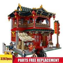 3267 шт moc креативные китайские строительные блоки для ресторана
