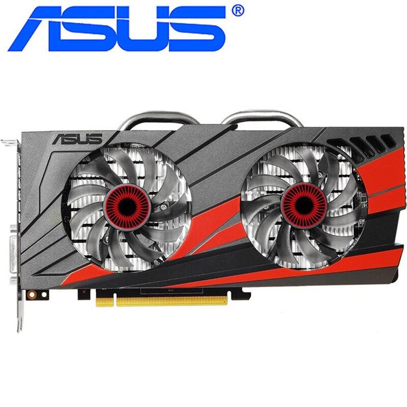Видеокарта ASUS GTX 960 бывшая в употреблении, 128-битные видеокарты с памятью GDDR5 2 ГБ, выходами VGA и HDMI и поддержкой процессоров nVIDIA Geforce GTX960, GTX 750, Ti 950, 1050, 1060-0