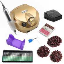 Electric Nail Drill Machine set For Manicure Pedicure 20/12W Milling Nails Equipment Set kit