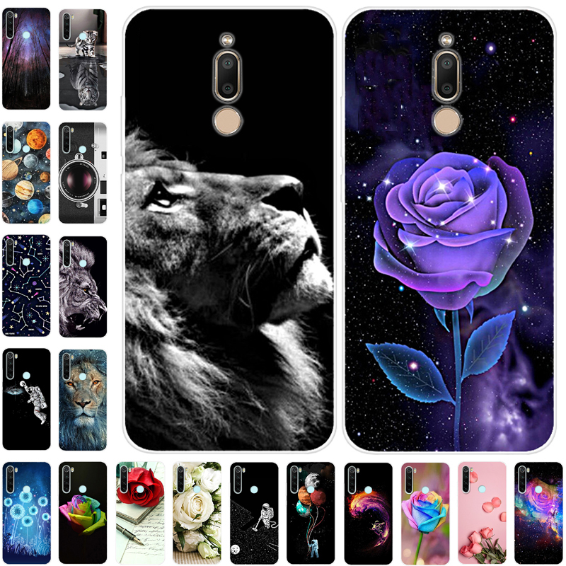 Phone Case For Meizu 16T Cover Silicone Soft Flower Fundas For Meizu C9 Case Phone Cover for Meizu C9 Pro C9Pro 16X TPU Cases