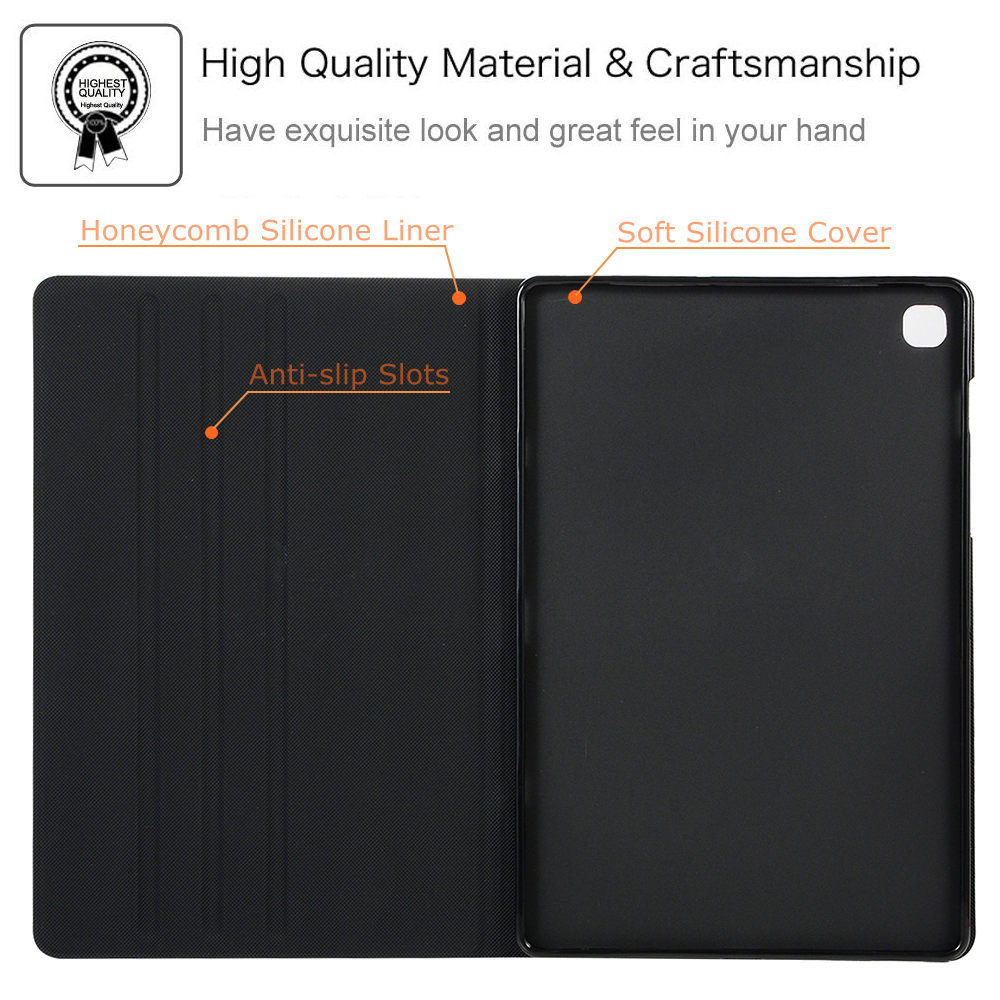 Case for Samsung Galaxy Tab S5E 10.5 2019 T720 T725 SM-T720 SM-T725 Slim Magnetic Stand Soft Silicone Back Cover Tablet Funda-1