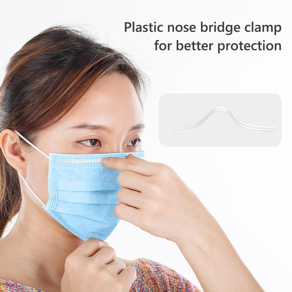 10/20/50pcs Disposable Anti-infection Mask Prevent Droplets Mask 3 Layers Fabric Anti Dust Protective Mouth Cover マスク