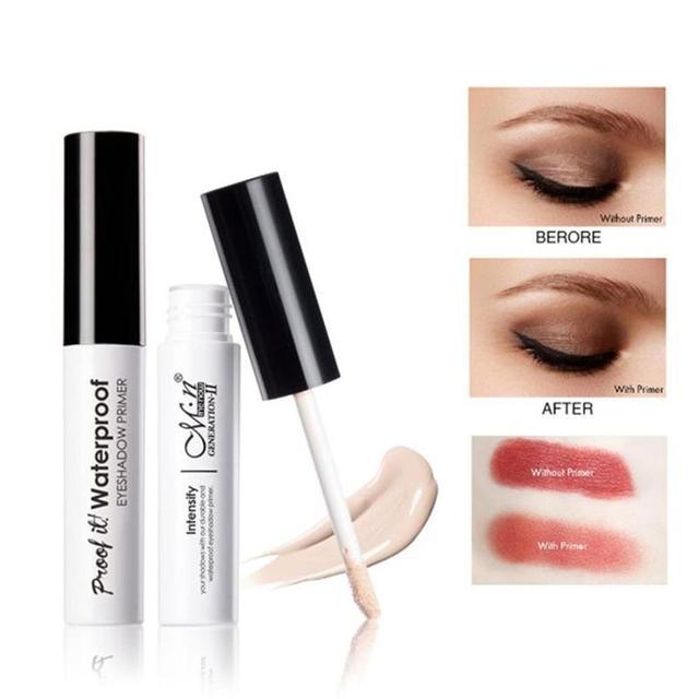 Liquid Waterproof Eyeshadow Eye Primer Moisturizing Base Makeup Cream Eyeshadow Base Primer