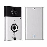 CST H611 H6 Wireless Doorbell Voice Intercom 300M Distance Outdoor Transmitter Indoor Receiver Intelligent With Fixed Paste   -