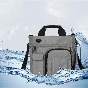"""Image 5 - Сумка на плечо для планшета ipad 7,9 """"9,7"""" 10,1 """" 12"""" 10,5 """" 12,9"""" air mini pro 2020 новые мужские сумки  мессенджеры для отдыха и путешествий черные сумки для ноутбука"""