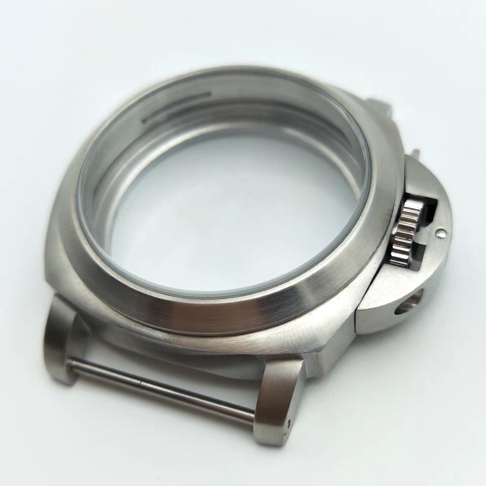 44mm Watch Cases Fit ETA 6497/6498 <font><b>ST3600</b></font> ST3620 Stainless Steel 316L Polishing Watch Case image