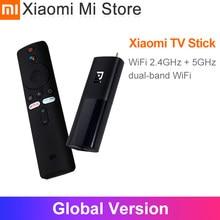 В наличии глобальная версия Xiaomi TV Stick Android TV 9,0 Smart 2K HDR Wi-Fi и Google Assistant 1GB 8GB блютус 4,2 Mi TV Stick