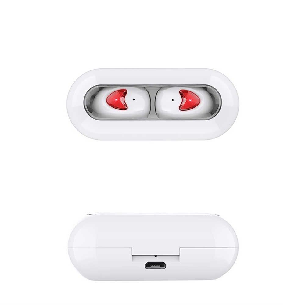 Draadloze Hoofdtelefoon Tw10 Bluetooth 5.0 Koptelefoon Airpodding Opladen Doos Met Microfoon Sport Waterdichte Headsets Oordopjes