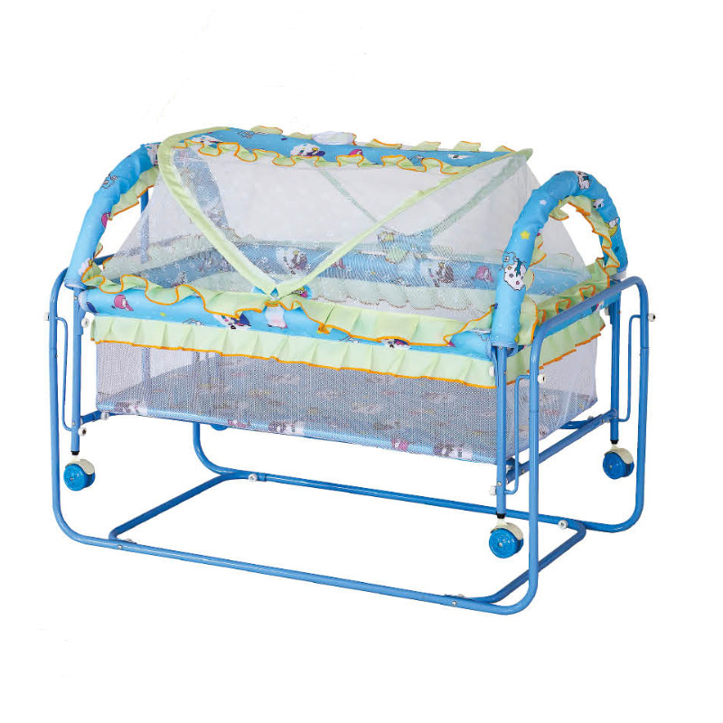 Foldable Baby Cradle Light Protable Baby Crib With Mosquito Net Infant Play Game Bed Sleeping Bed  Baby Jogger Bassinet