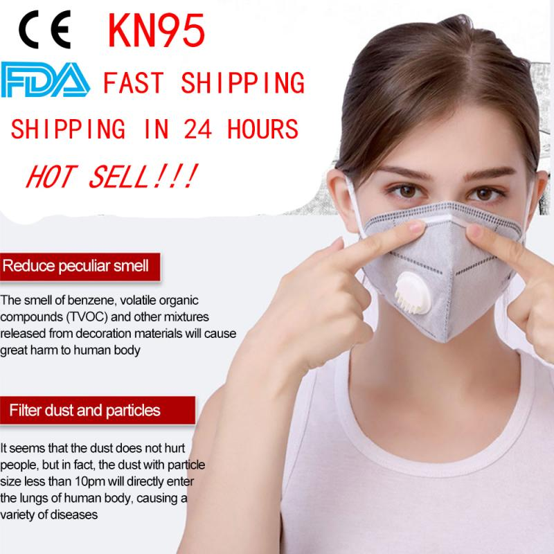 1/10 Pcs KN95 Face Mask Dustproof Windproof Respirator PM 2.5 Respirator Mask With Breath Anti-Pollution Face Mask Dropshipping