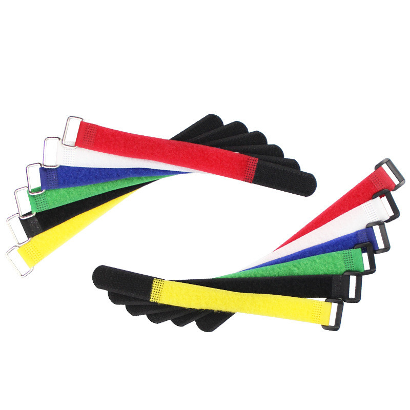 5PCS20cm 30cm Magic Sticker Battery Strap Lipo Battery Cable Tie For RC FPV Helicopter Drone DIY Multirotor Car Parts