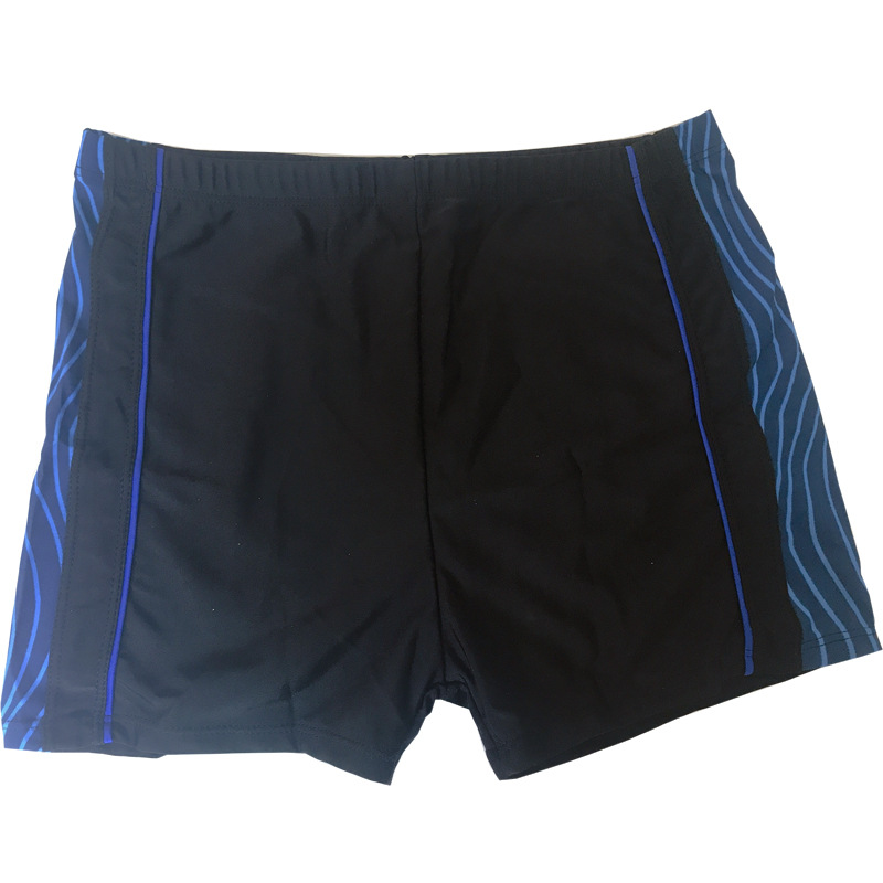 Men Mixed Colors Swimming Trunks Summer Korean-style Beach Hot Springs Large Size Boxer Swimming Trunks Quick-Dry