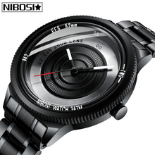 Relogio Masculino NIBOSI Unique Special Design Mens Watches Top Brand Luxury Sport Quartz Watch Men Waterproof Casual Men Watch