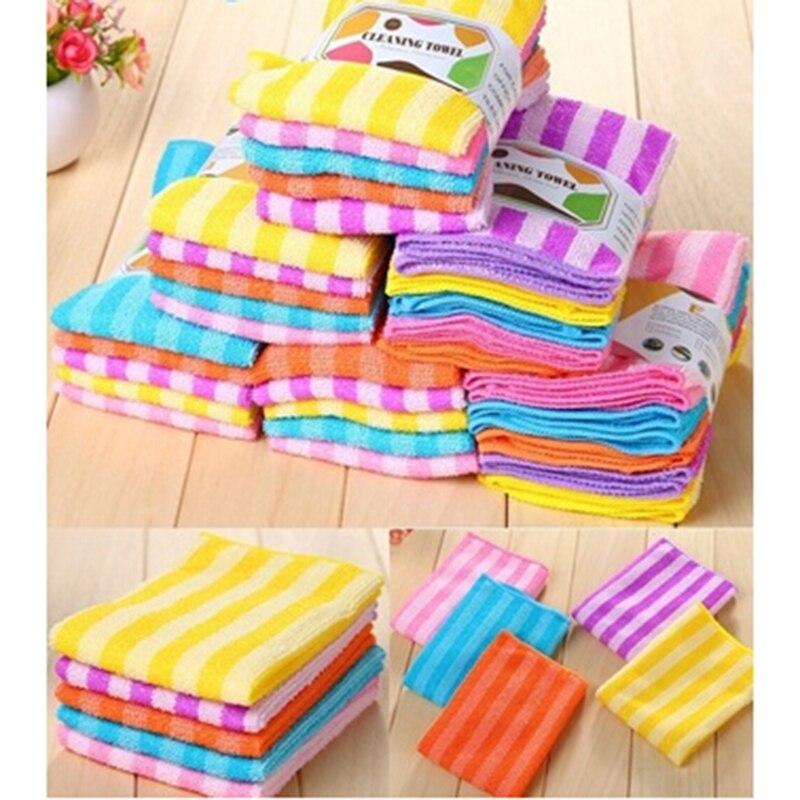 Objective 5pcs/ Pack Colorful Microfiber Fiber Swimming Towel Magic Outdoor Towel