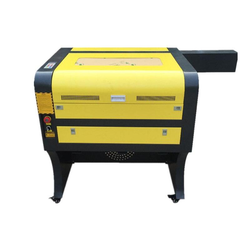 Wysokiej jakości 40x60cm 60W wycinarka laserowa CO2 laserowa maszyna grawerująca