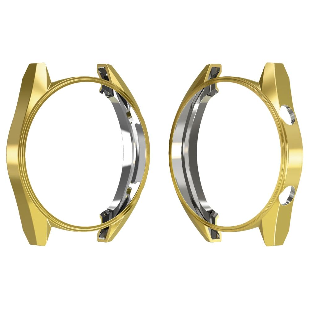 Для huawei Watch GT тонкий ТПУ защитный чехол для часов чехол для huawei 2 Pro 2Pro спортивные силиконовые умные часы протектор бампер оболочка - Цвет: Золото