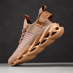 Image 2 - النساء أحذية رياضية 2020 موضة جديدة الرجال زوجين احذية الجري خفيفة الوزن شفرة أحذية في الهواء الطلق أحذية رياضية غير رسمية سهلة المشي 2020