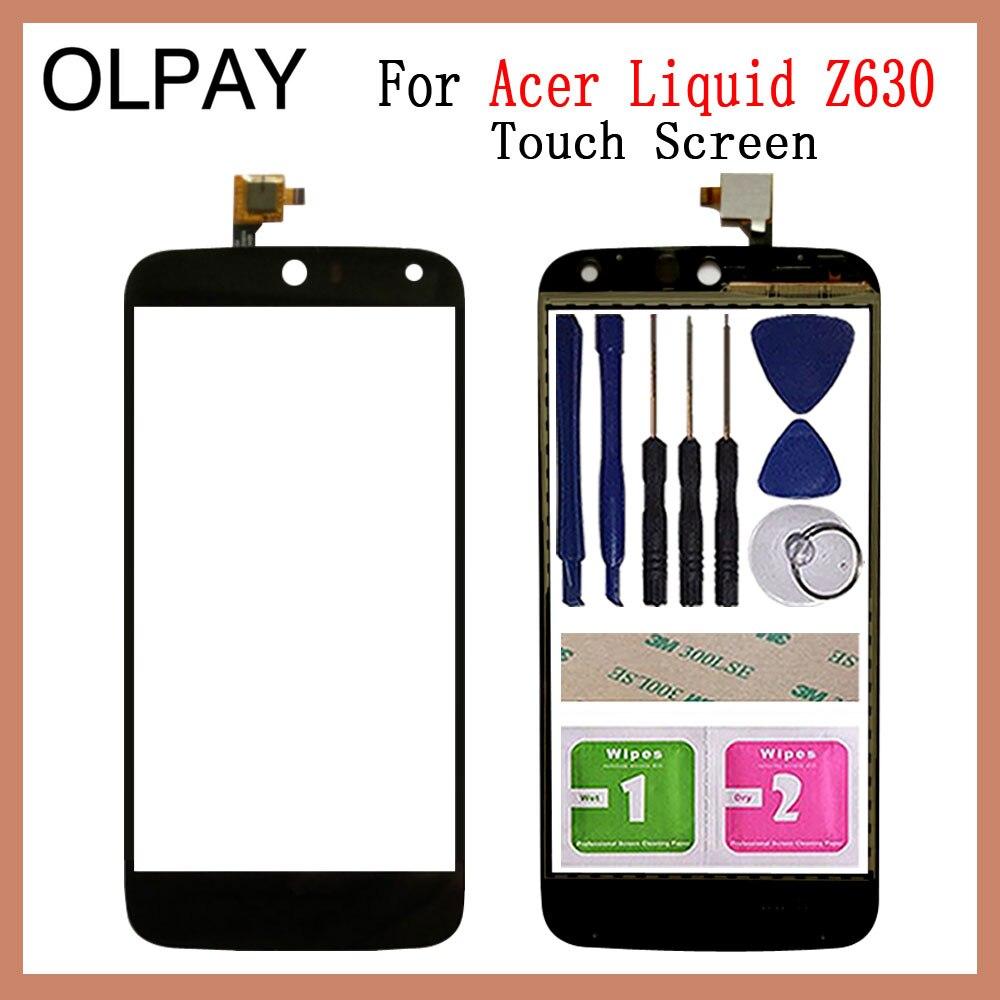 Mobile Phone TouchScreen For Acer Liquid Z630 5.5'' Inch Touch Screen Glass Digitizer Panel Lens Sensor Glass Repair