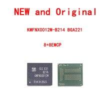KMFNX0012M-B214 samsung fonte do telefone móvel 8 + 8 chip de memória emcp bga221 novo e original