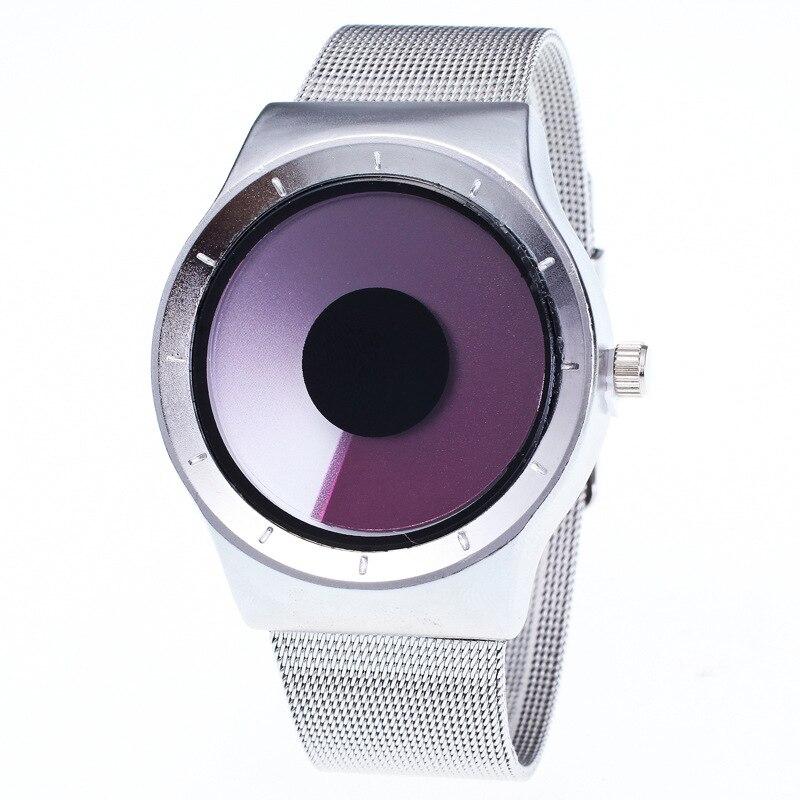 Wechat Business Hot Selling Supply Of Goods Creative Vortex Watch Women's Night Light Simple Students Waterproof Fashion Vortex