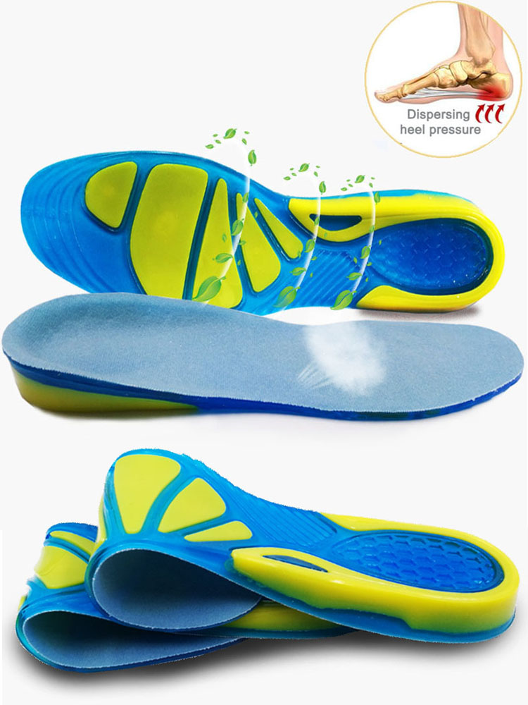 KOTLIKOFF Silicon-Gel-Insoles Shoe-Pad Massaging Foot-Care Orthopedic Shock-Absorption