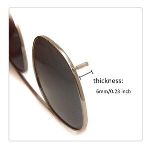 Image 5 - Gepolariseerde Clip Op Zonnebril Mannen Ronde Brillen Frame Acetaat Snap Op Verwisselbare Lens Vintage Shades Brand Design Oculos De Sol