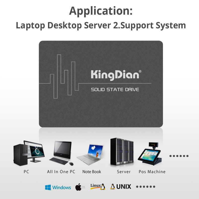 KingDian SSD 1tb 120gb 240 gb 480gb 2tb SSD HDD 2.5 ''SSD SATA SATAIII 512gb 256gb 128gb wewnętrzny dysk półprzewodnikowy do laptopa